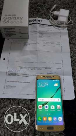 samsung galaxy s6 egde in gold 32gb