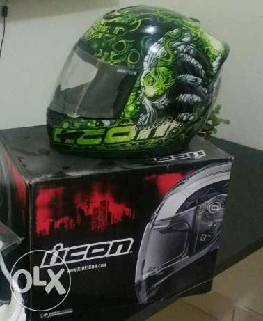 Icon 1000 Airmada Medium Size Motorcycle Helmet سلوى -  1