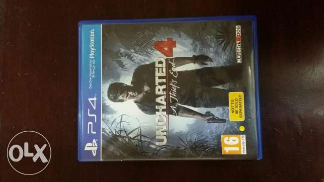 UNCHARTED 4 (PS4) for sale