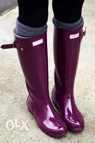 Woman Hunter Boots size 6