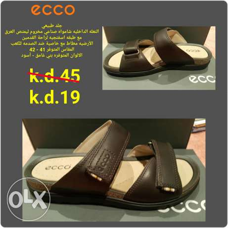Ecco slipper. Brand new. Original