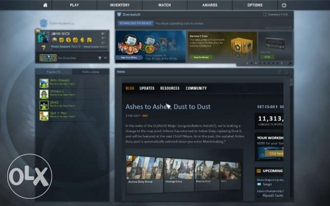Counter Strike Global offensive account