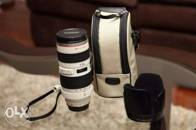For sell Canon 70-200 f2.8 L USM lens