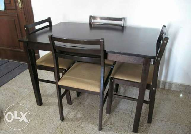 Dining table and cupboard for sale