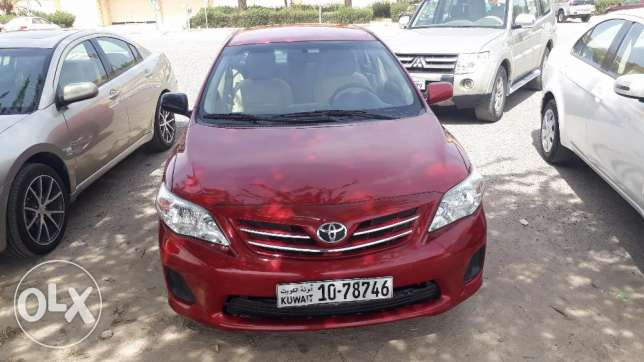 toyota corolla 2012 for sale on cash or easy installment basic