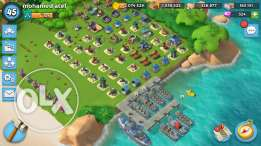 Boom Beach level 45 Very Strong