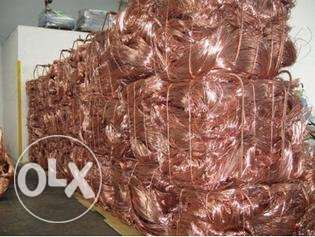 Copper pipe and wire , grade A