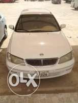 Nissan sunny model 2003 color white with good condition ac working.