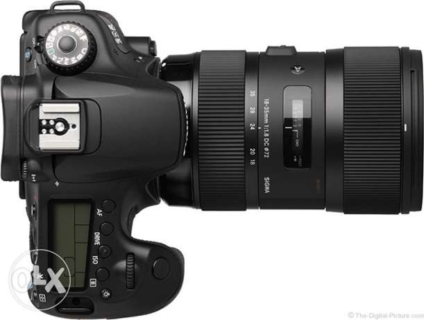 Canon 60D and Sigma 18-35mm f/1.8 DC HSM Art Lens for sale