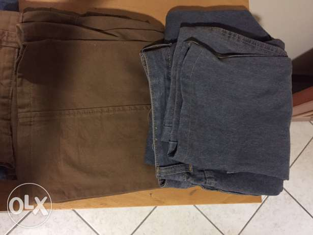 5 pants for sale (4jeans)