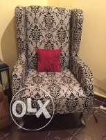 Great condition, black and grey, almost new, single chair For sale