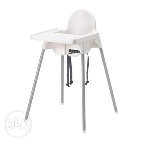 Two Highchair with tray, silver-colour ميدان حولي -  1