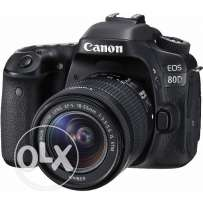 Sell Canon 80d with 18-55 mm lens brand new just a month back