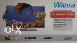 "Wansa 42"" SMART 3D LED TV"
