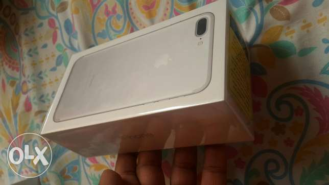 Iphone 7plus 128gb silver for sale brand new sealed pack