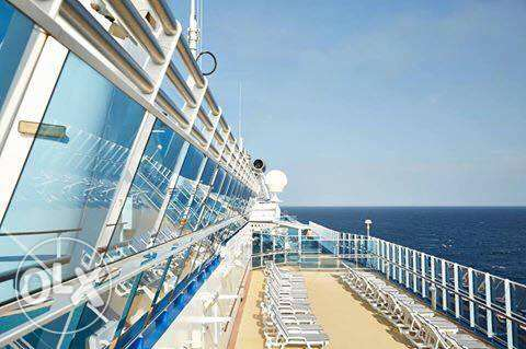 Job Vacancy in PRINCESS CRUISE SHIP with free Acommodation
