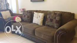 Sofa set as good as new for sale