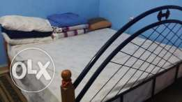 King size cot with very good mattress for urgent Sale