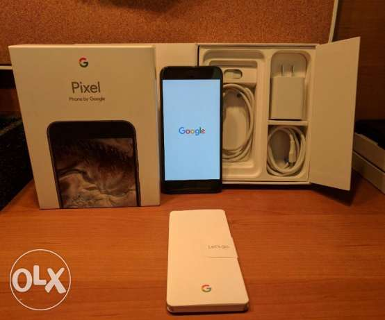 New Google Pixel XL 128GB Black UNLOCKED for sale