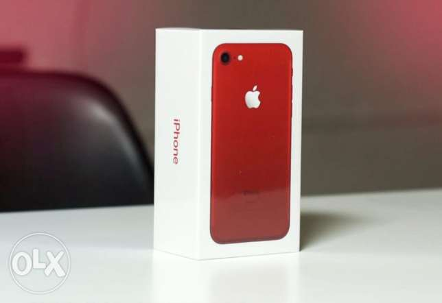 Selling IOS- I-Phone Red 7