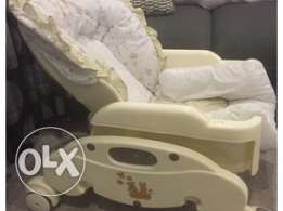 Juniors Baby chair and swing