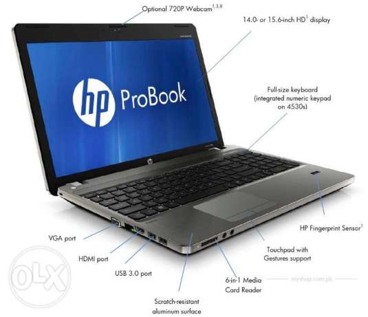 Hp Probook 4530s i5 Laptop For Sell