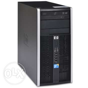 HP Compaqpro 6000 core2quad with Dell LED monitor for sale