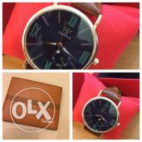 watch and wallet available