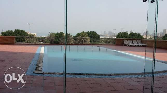 Full floor 3 bedroom flat in Shaab Al Bahri for KWD 1200