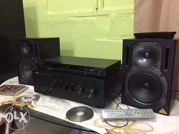 Studio Monitors + Amplifier السالمية -  4