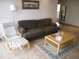 Fully furnished sea view duplex in Salmiya for KD 850