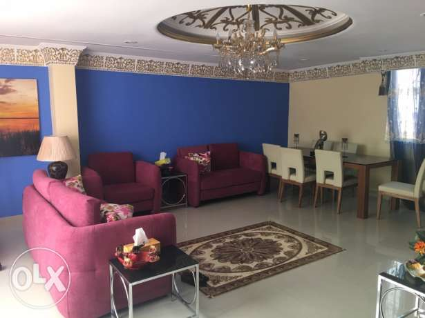 amazing fully furnished penthouse with rooftop terrace in mangaf