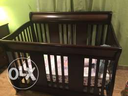 baby cot Giggles with matrix