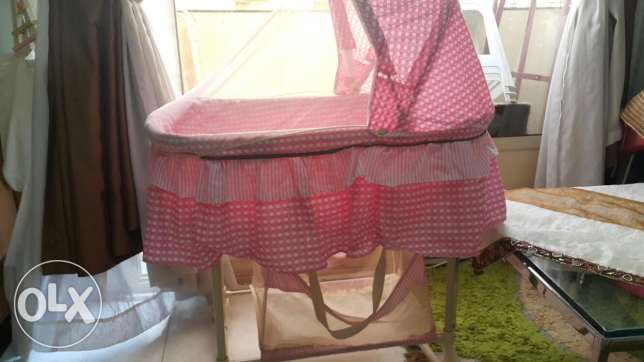 Juniors stroller and baby bassinet for sale ابرق خيطان -  4