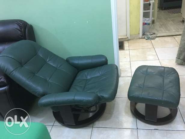 Recliner Chair with foot stool 10 KD