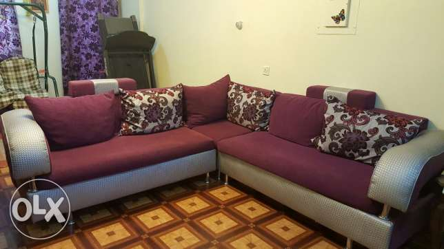 L-shaped Sofa..immediate sale..
