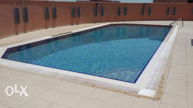 two bedroom apartment with gym a and pool