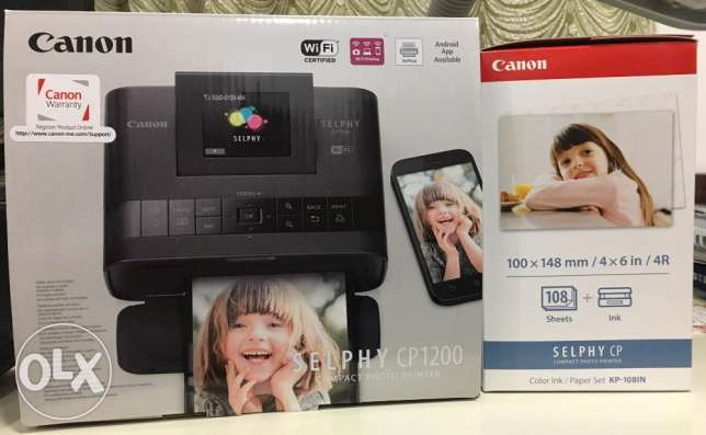 Cannon Compact Photo Printer for Sale
