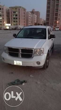 GOOD CONDITIONED Dodge Durango 2008 for sale -- PASSING UPTO DEC 2017