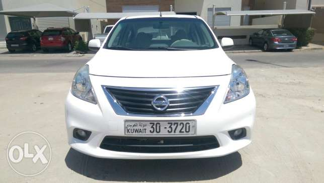 Nissan sunny 2013 car is sell