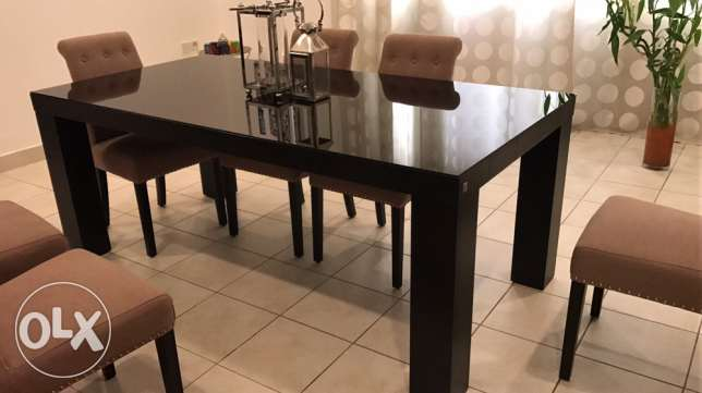 new dining table from (The One)