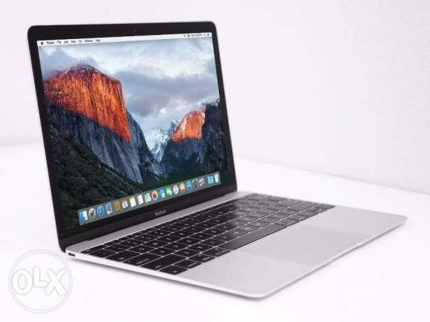 "ماكبوك MacBook 12"" Retina (5th Gen) Core M 1.2, 8GB, 512GB"