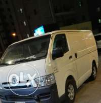 TOYOTA hiace box type van for sale