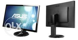 ASUS 27inch 3D LCD monitor with 2 3d glasses for sale