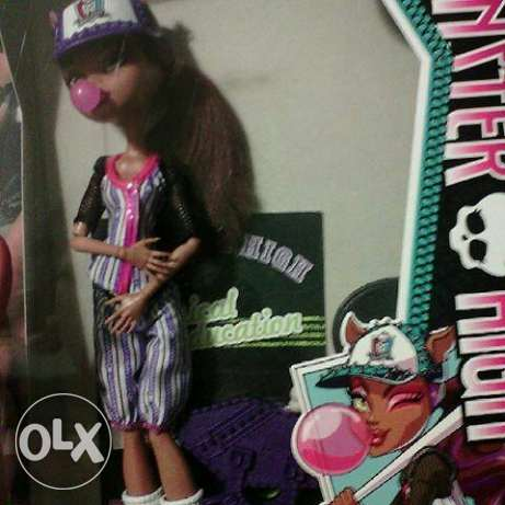 monster high doll clawdeen wolf