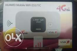 Huawei (VIVA) 4G LTE Pocket Router Model # E5577C - Brand New