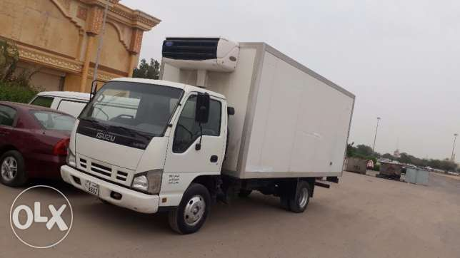Isuzu half lorry cooler 2007 model