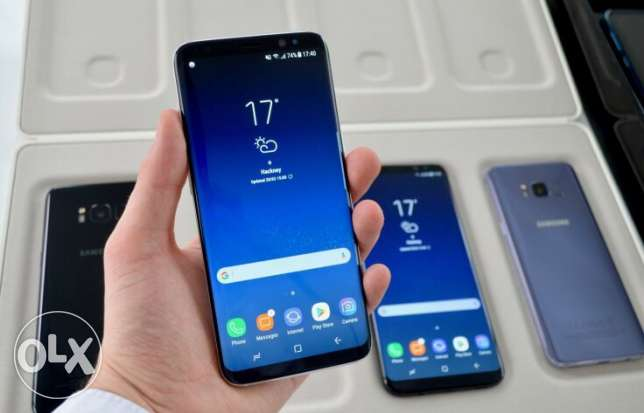 Samsung Galaxy S8+ 12MP 64gb Factory Unlocked GSM