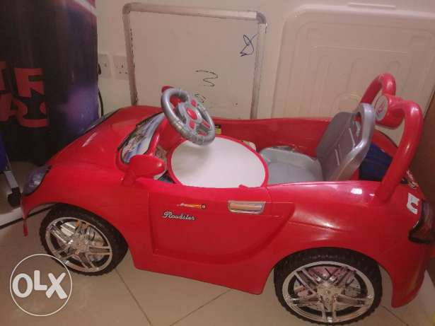 Kids driving car