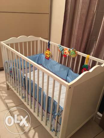 IKEA Baby cot and matrix for sale